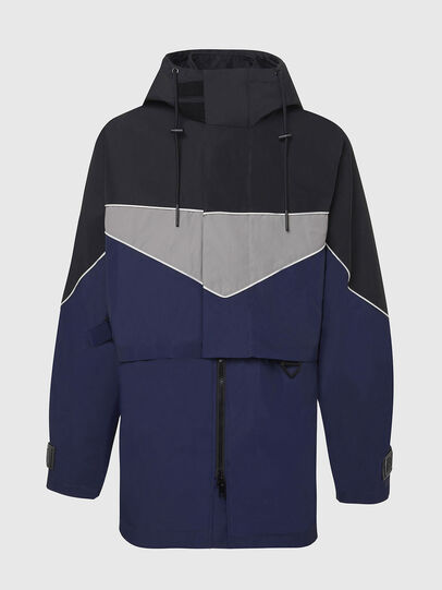 Diesel - W-KOON, Blue/Grey - Winter Jackets - Image 1