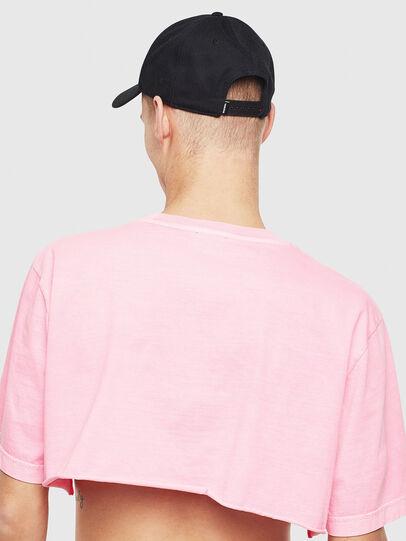 Diesel - T-CROPPY, Pink - T-Shirts - Image 3