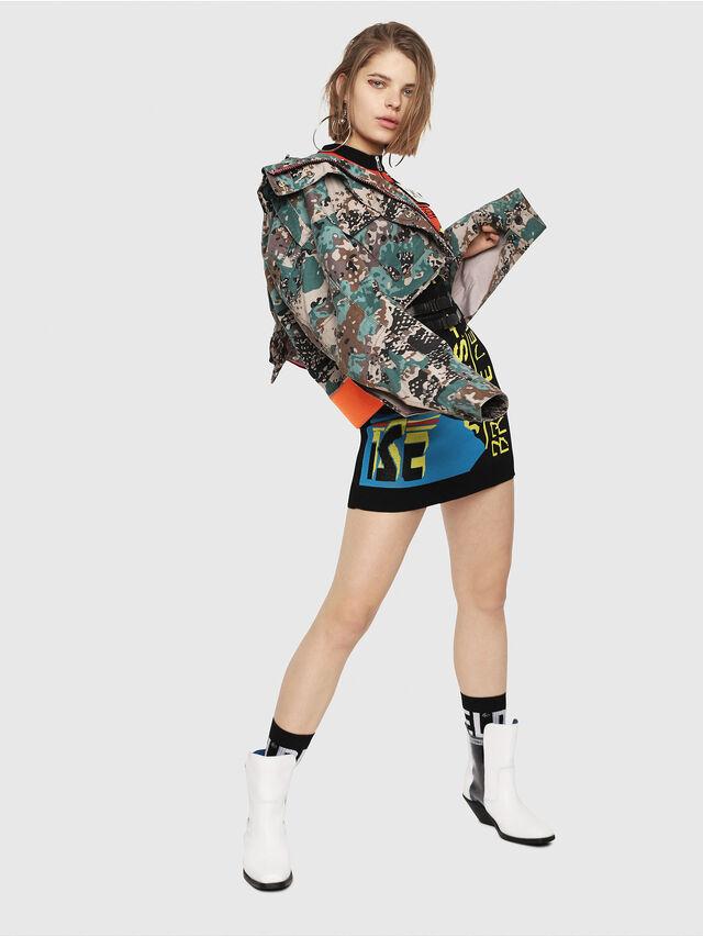 Diesel - M-RUN, Multicolor - Knitwear - Image 5