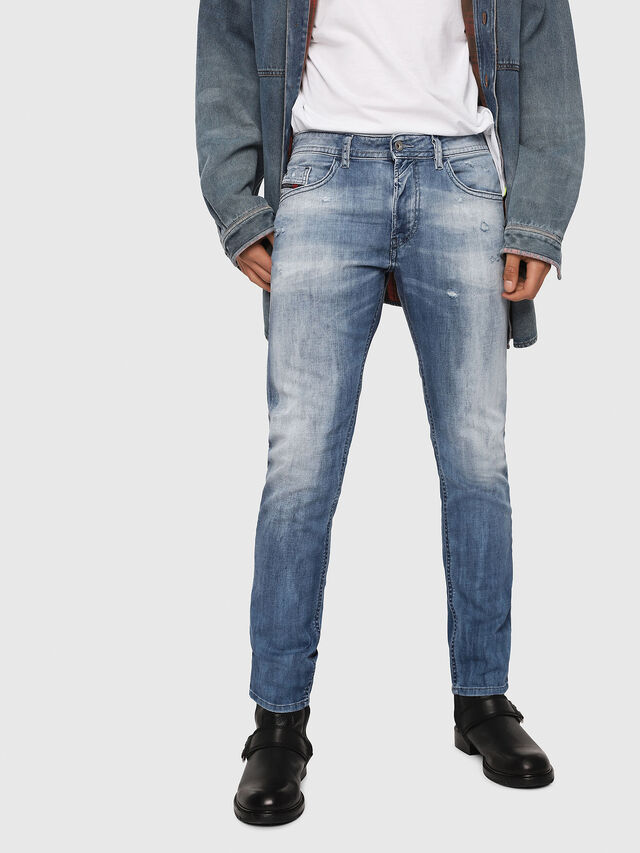 Diesel - Thommer 081AS, Light Blue - Jeans - Image 1