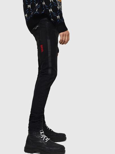 Diesel - D-Amny 0890U, Black/Dark grey - Jeans - Image 5