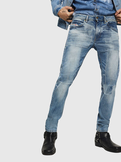 Diesel - Thommer 0092F, Light Blue - Jeans - Image 1