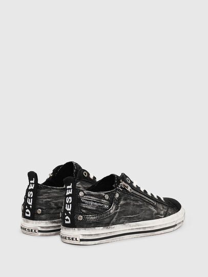 Diesel - EXPO-ZIP LOW, Black - Sneakers - Image 3