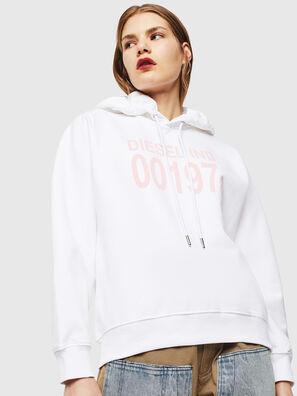 F-ANG-HOOD-J1, White - Sweaters