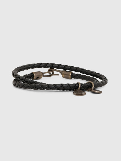 Diesel - ALUCY BRACELET 2, Black - Bijoux and Gadgets - Image 1