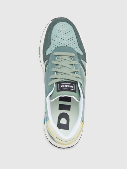 Diesel - S-BRENTHA FLOW, Water Green - Sneakers - Image 5