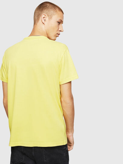 Diesel - T-DIEGO-B14, Yellow - T-Shirts - Image 2