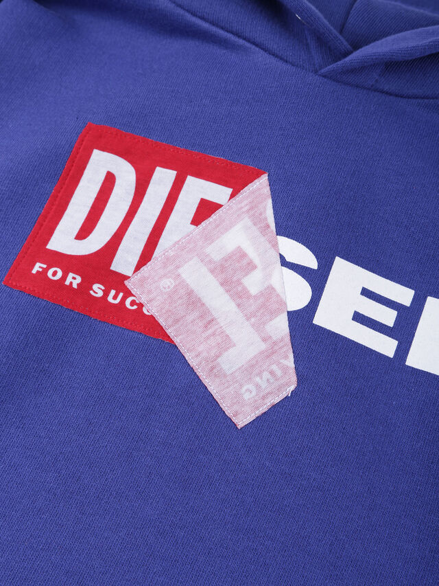 Diesel - SALBY OVER, Cerulean - Sweaters - Image 3