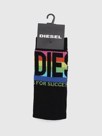 Diesel - SKM-RAY, Black - Socks - Image 2