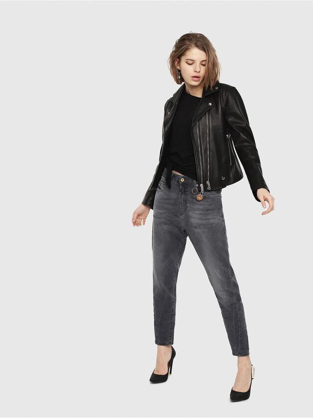 Diesel - Candys JoggJeans 069EP, Black/Dark grey - Jeans - Image 4