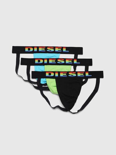 Diesel - UMBR-JOCKYTHREEPACK, Multicolor/White - Jockstraps - Image 1