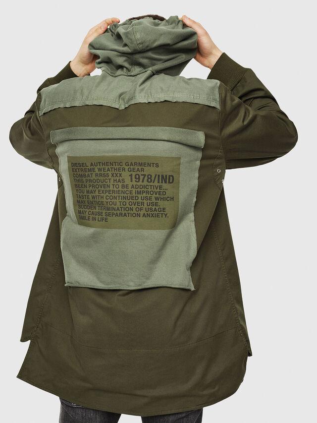 Diesel - S-EIKU, Military Green - Shirts - Image 2