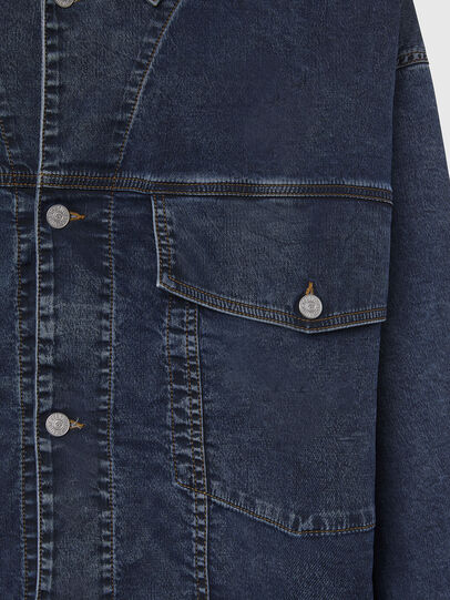 Diesel - D-RAF-SP JOGGJEANS, Dark Blue - Denim Jackets - Image 4