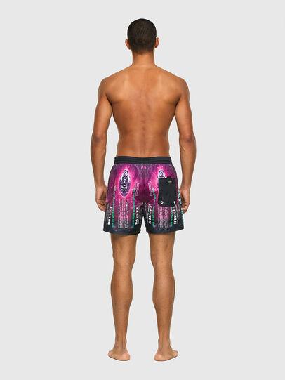 Diesel - BMBX-WAVE 2.017, Black/Violet - Swim shorts - Image 2