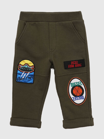 Diesel - POLBYPATCHESB, Military Green - Pants - Image 1