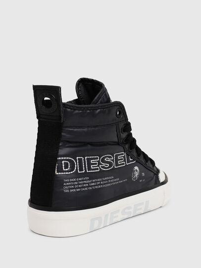 Diesel - SN MID 07 MC LOGO CH, Black - Footwear - Image 4