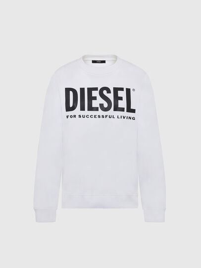 Diesel - F-ANG, White - Sweaters - Image 1