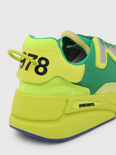Diesel - S-SERENDIPITY LC, Yellow/Green - Sneakers - Image 5