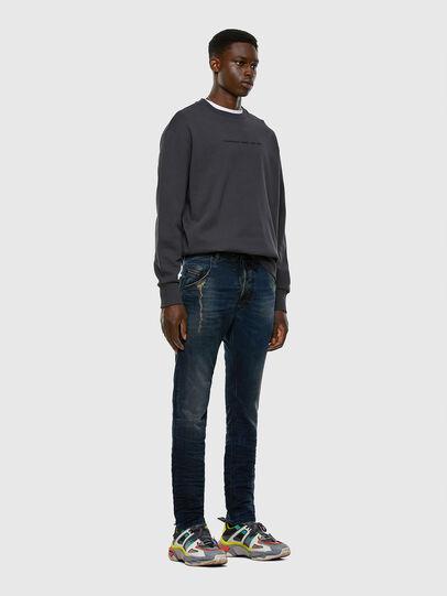 Diesel - Krooley JoggJeans 069NP, Dark Blue - Jeans - Image 7