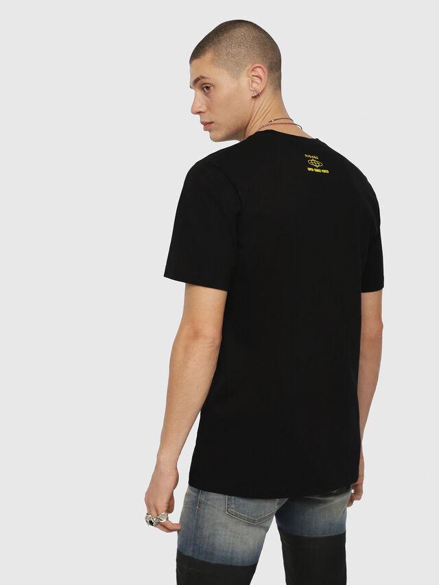 Diesel - T-JUST-YD, Black - T-Shirts - Image 2