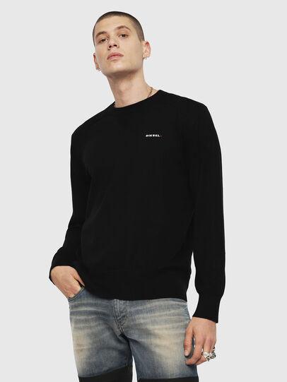 Diesel - K-LAUX, Black - Knitwear - Image 1