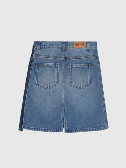 Diesel - GETOBY, Blue - Skirts - Image 2