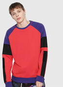 S-GIM-BLOCK, Red/Black - Sweaters
