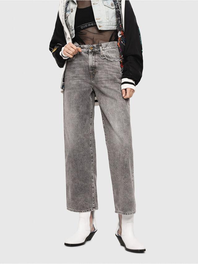 Diesel - Widee 8880X, Light Grey - Jeans - Image 1