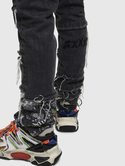 Diesel - D-Kras 009CD, Black/Dark grey - Jeans - Image 6