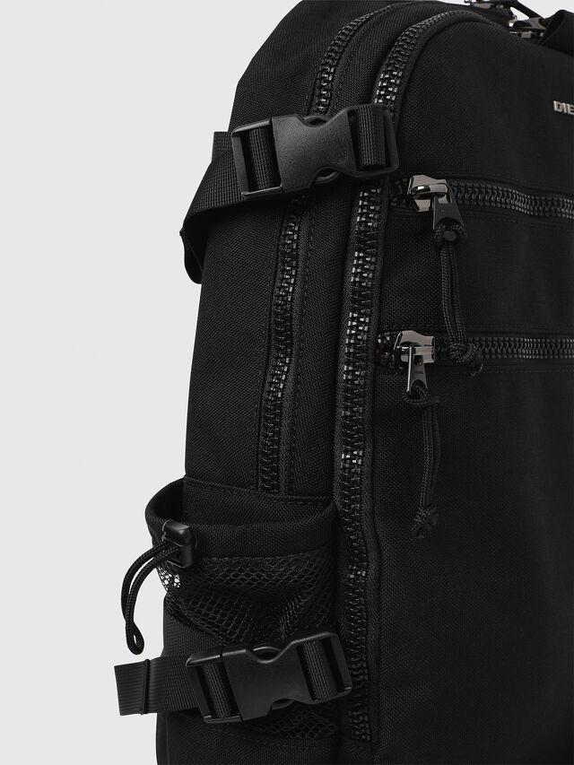 Diesel F- URBHANITY BACK, Black - Backpacks - Image 4