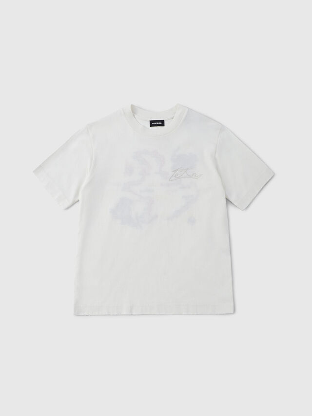 Diesel - TRONT OVER, Off White - T-shirts and Tops - Image 1