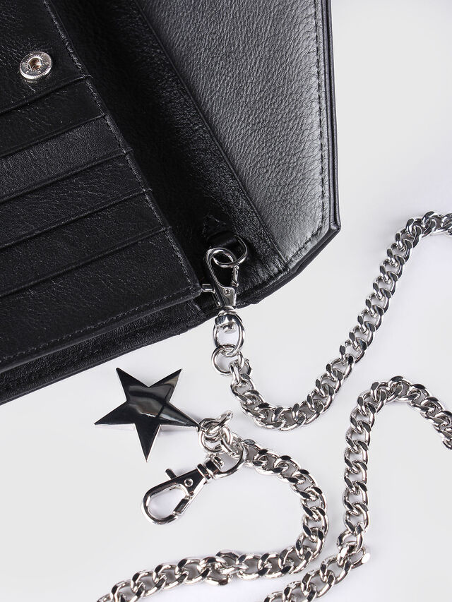 Diesel - GIPSI, Black - Small Wallets - Image 6