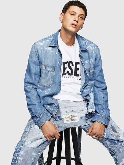 Diesel - D-FRED,  - Denim Shirts - Image 4