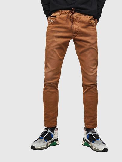 Diesel - Krooley JoggJeans 0670M, Brown - Jeans - Image 1