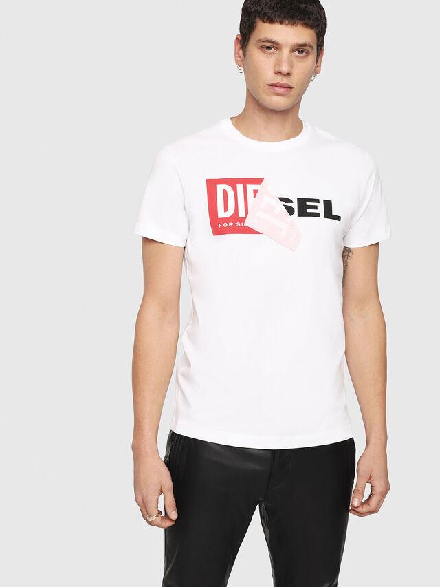 Diesel T-DIEGO-QA, White - T-Shirts - Image 1