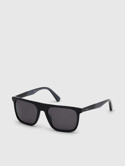Diesel - DL0299, Black/Grey - Sunglasses - Image 2