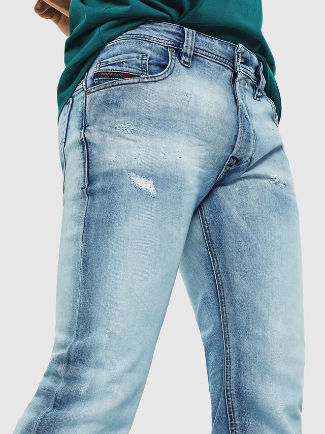 Diesel - Safado C81AS, Light Blue - Jeans - Image 3