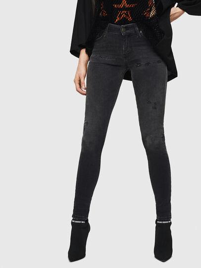 Diesel - Slandy 069GI, Black/Dark grey - Jeans - Image 1