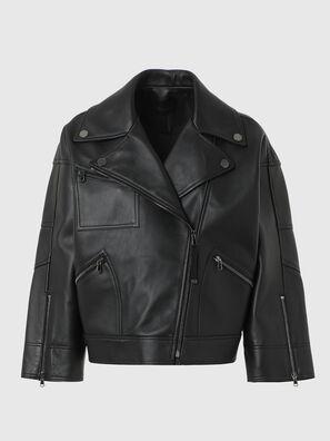 L-HAZEL, Black - Leather jackets