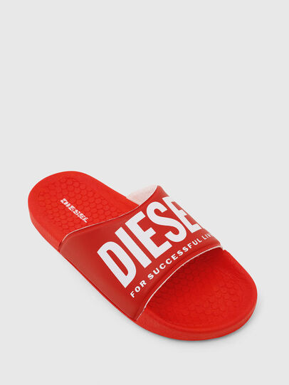 Diesel - FF 01 SLIPPER CH, Red - Footwear - Image 4