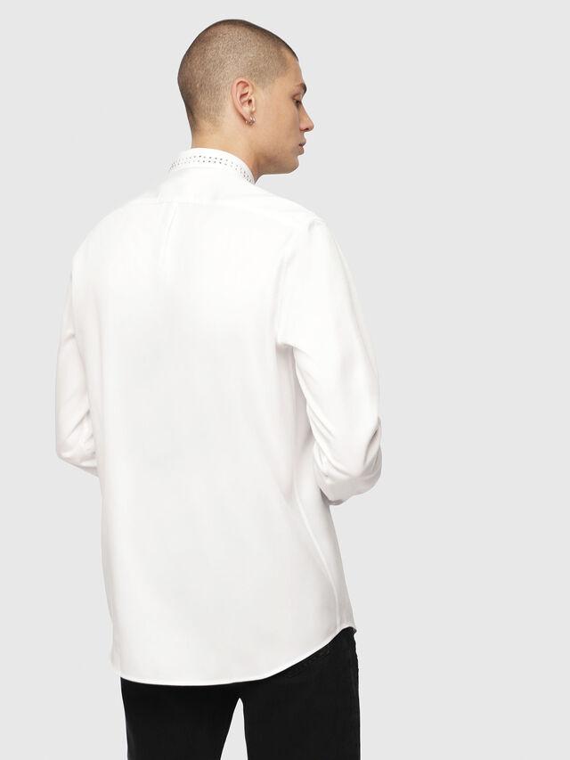 Diesel - S-TUDS, White - Shirts - Image 2