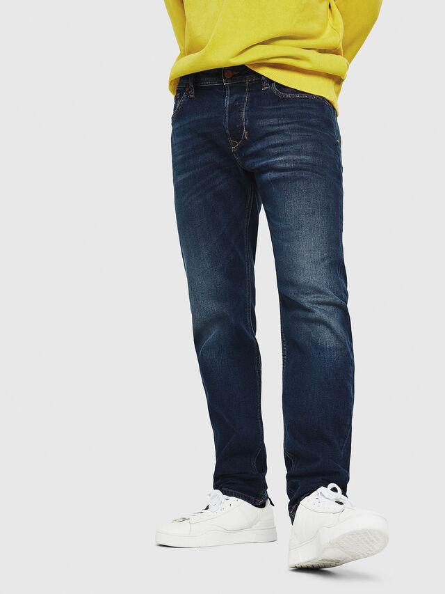 Diesel - Larkee-Beex 087AS, Dark Blue - Jeans - Image 1