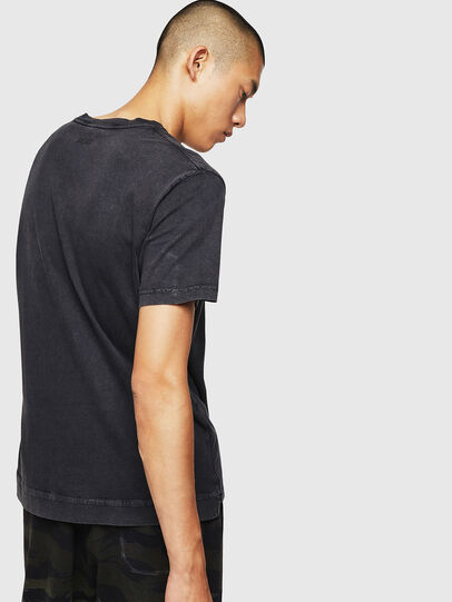 Diesel - T-THEA, Black - T-Shirts - Image 2