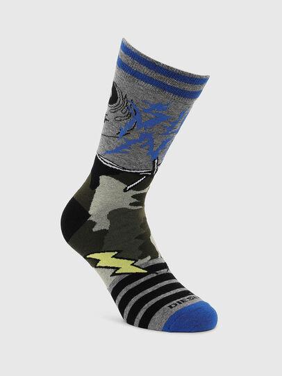 Diesel - SKM-RAY, Grey - Socks - Image 1