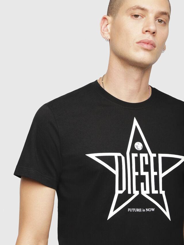 Diesel - T-DIEGO-YH, Black - T-Shirts - Image 3