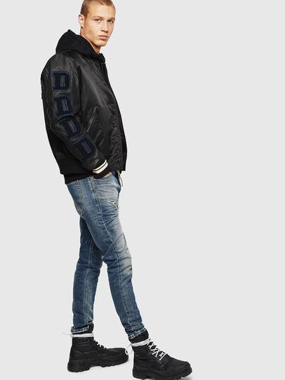 Diesel - L-KHARKOV, Black - Leather jackets - Image 8