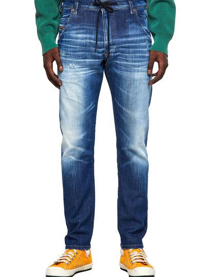 Diesel - Krooley JoggJeans® 09B52, Medium blue - Jeans - Image 1