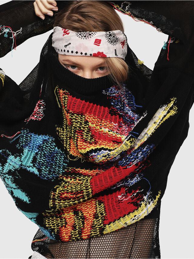 Diesel - M-NOW, Multicolor/Black - Knitwear - Image 3