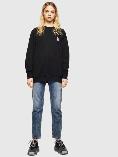 Diesel - S-GIR-DIV-P, Black - Sweaters - Image 6