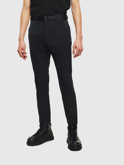 Diesel - P-LOST-NP, Black - Pants - Image 1